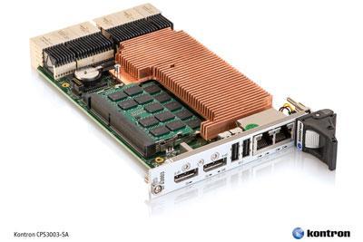 3U CompactPCI® Serial processor board: Kontron CPS3003-SA