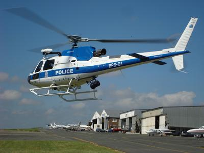 AS350 B3e from Botswana's Police Air Support Branch © Copyright Airbus Helicopters Southern Africa Pty Ltd
