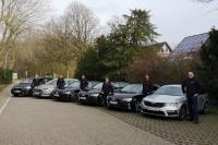 Eine Woche in NRW auf Tour: die Gebietsverkaufsleiter von KYB Europe