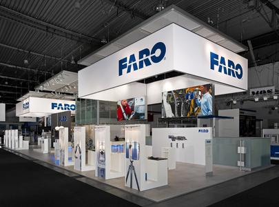 Neuer Markenauftritt von FARO auf der Control 2014