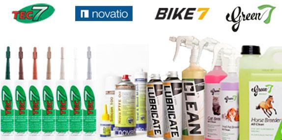 Novatech brands and products