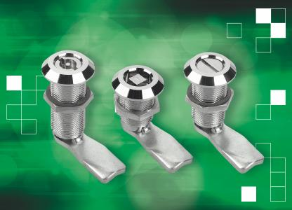 Die Drehriegel von norelem sind in einer kompakten und einer langen Ausführung (im Bild) erhältlich