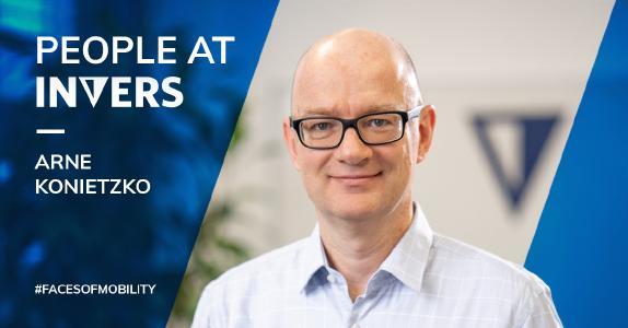 INVERS new Chier Financial Officer Arne Konietzko