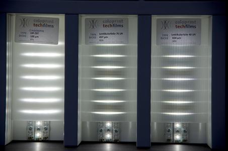 Licht lenken durch geprägte Folien von BayerMaterialSience