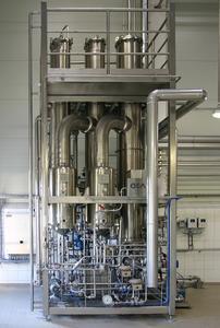 Beer de-alcoholization plant