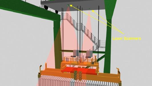 LaseLCPS-2D: Animierte Darstellung der Installationspunkte