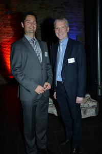 Dr. Fabian Geyer und Prof. Dr. Holger Watter, Foto: Torsten Haase/FH Flensburg