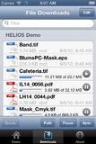 """Die """"iPad Document Hub""""-App bietet wiederaufnehmbare parallele Downloads, so dass auch in Gebieten mit schlechtem Empfang Dateien sicher und effizient übertragen werden."""