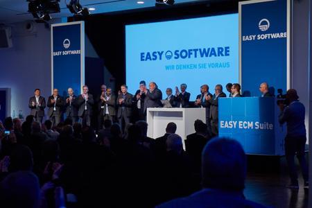 Im Rahmen der EASY WORLD 2015 informierten rund 30 Fachvorträge u. a. zur EASY ECM Suite über die aktuellen und künftigen Trends der Software-Branche. Foto: EASY SOFTWARE AG/Alexander Maier