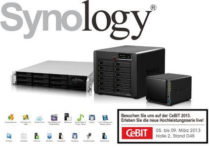 Synology auf der CeBIT 2013 (Stand D48, Halle 2)