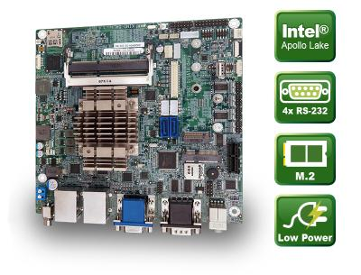 KINO-DAL - Mini-ITX CPU Board mit Apollo Lake SoC