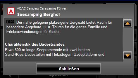 Informationen Campingplätze