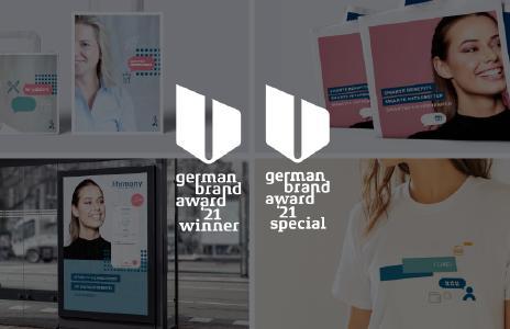 """Erneut gewinnt Saupe Communication den """"German Brand Award"""" - diesmal in gleich zwei Kategorien."""