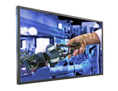 "Distec presents UHD POS-Line monitor Brilan 4k 75"" for industrial use, Copyright: Distec GmbH"