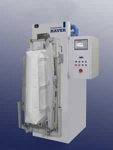 Der HAVER-Pumpenpacker ist eine Neuentwicklung speziell für Leichtstoffe