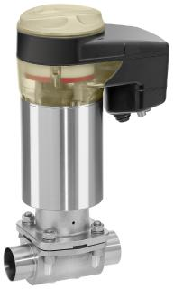 Efficient motorized actuator for globe and diaphragm valves