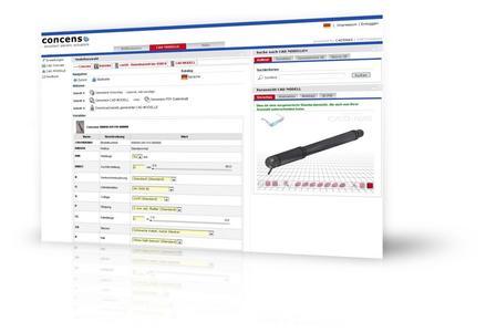Das neue 3D CAD Downloadportal des dänischen Herstellers Concens A/S