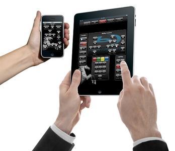 iPad und iPhone als Bedien-Frontend im Konferenzraum oder im Privathaus