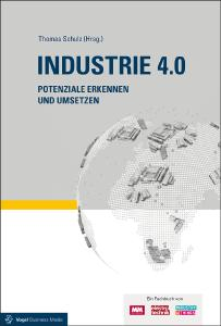 """Im Fachbuch """"Industrie 4.0"""" analysieren Experten aus verschieden Industriebereichen die Möglichkeiten der tiefgreifenden digitalen Veränderung. (Foto: VBM-Fachbuch)"""