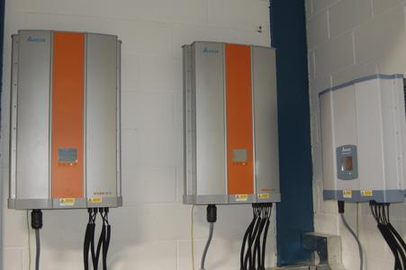 Delta Solar Inverters installed at Aquafax head office
