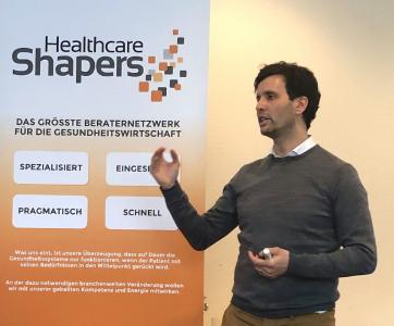Impuls - Blockchain in Healthcare - von Dr. Issame Outaleb, Pharmtrace