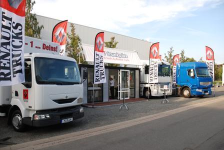 Renault Trucks wie bereits 2010 mit eigenem Gebrauchtwagenstand auf der IAA 2012