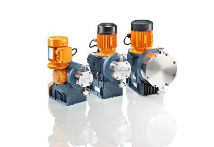 Motor Driven Metering Pumps of the Sigma Product Range