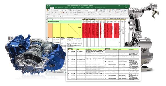 MapleMBSE sorgt für eine systemweite Projektzusammenarbeit und reduziert die Zeit und Fehler, die mit Standard-MBSE-Tools verbunden sind