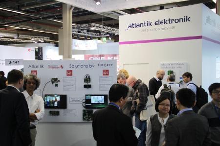 Atlantik Elektronik Messestand @ embedded world 2019