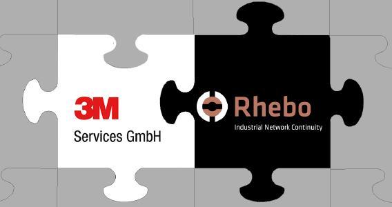 Partnerschaft 3M Services und Rhebo GmbH