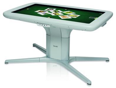 Neuer SMART Table® 442i fördert gemeinschaftliches Lernen