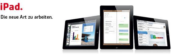 iPad. Die neue Art zu arbeiten.
