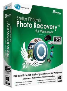 Rettung für gelöschte Fotos: Stellar Phoenix Photo Recovery v6