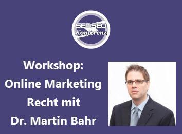 Workshop mit Dr. Martin Bahr