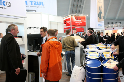 Trade fair LogiMAT 2010 in Stuttgart on track for success