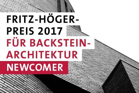 Das Logo zur Wanderausstellung zum Fritz-Höger-Preis 2017 (Foto © Initiative Bauen mit Backstein)