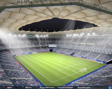 HSV – a major German football club – is now offering fans a real-time 3D visualisation of its football arena that is powered by Bitmanagement technology.
