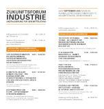 Agenda Zukunftsforum Industrie