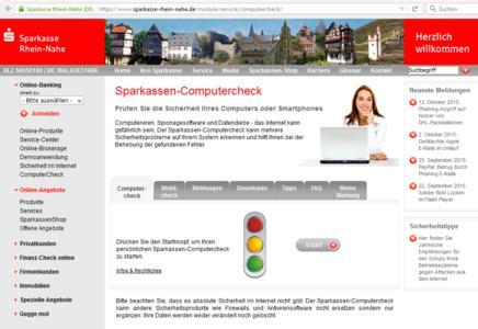 Sparkassenverband Rheinland-Pfalz entscheidet sich für den CORONIC Computercheck