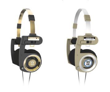 Kunden haben abgestimmt: KOSS bringt seinen Klassiker Porta Pro im Herbst in zwei limitierten Editionen als Black Gold und Rhythm Beige