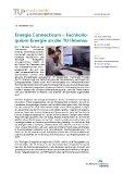 [PDF] Pressemitteilung: Energia Connecticum - Fachkolloquium Energie an der TU Ilmenau