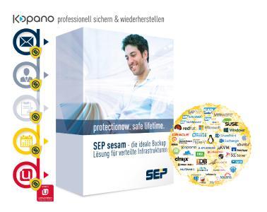 SEP sesam sichert als einzige professionelle Backup-Lösung Univention und Kopano, Quelle: SEP AG