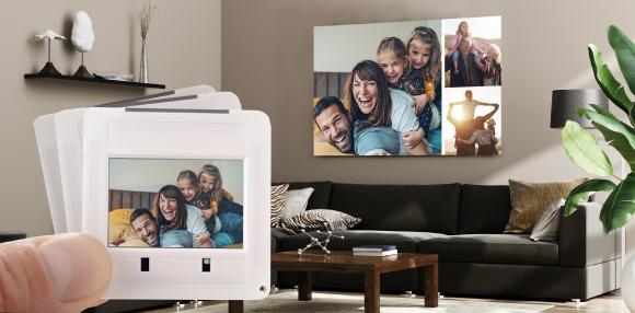 digitalspezialist hilft analoge Fotoschätze zu digitalisieren, damit sie beispielsweise später als Wanddekoration in Szene setzt werden können.