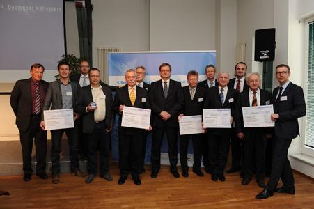 Preisträger 4. Deutscher Kältepreis, Foto: Ingo Heine