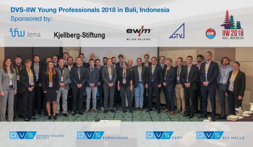 Auf der 71th IIW Annual Assembly & International Conference auf Bali präsentierten 26 angehende Ingenieure und junge Wissenschaftler aus Deutschland mit Unterstützung von EWM ihre Forschungsergebnisse vor internationalem Fachpublikum