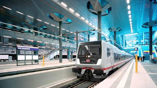 Knorr-Bremse and train manufacturer Talgo have signed an equipment contract for 23 ECx passenger trains for Deutsche Bahn. | © Deutsche Bahn