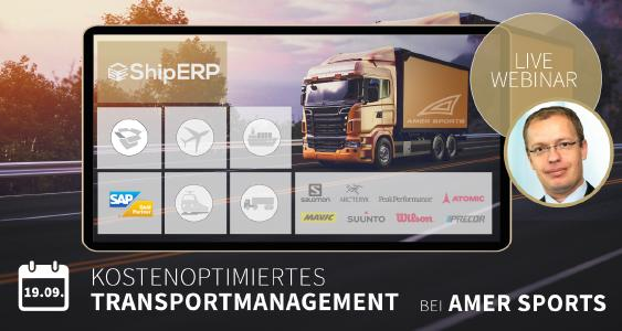 Referenzkundenwebinar | Transportation Manager EMEA Sebastian Chrometzka von Amer Sports berichtet