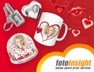 Remembering the tradition of expressing love through love notes FotoInsight puts the personal note back into Valentine.