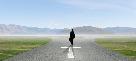 Entscheidungen über die berufliche Zukunft
