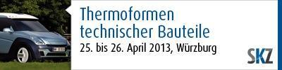 Thermoformen: Mit weniger Energie und mehr Kontrolle! Mehr auf der SKZ-Fachtagung im April 2013